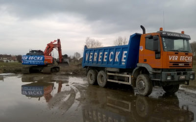 Werken gestart op de Suikerpark site