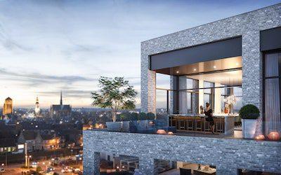 Appartementen met panoramisch zicht over Veurne