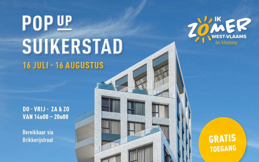 Yes, het zomert in Suikerpark! Welkom in Suikerstad 2020.
