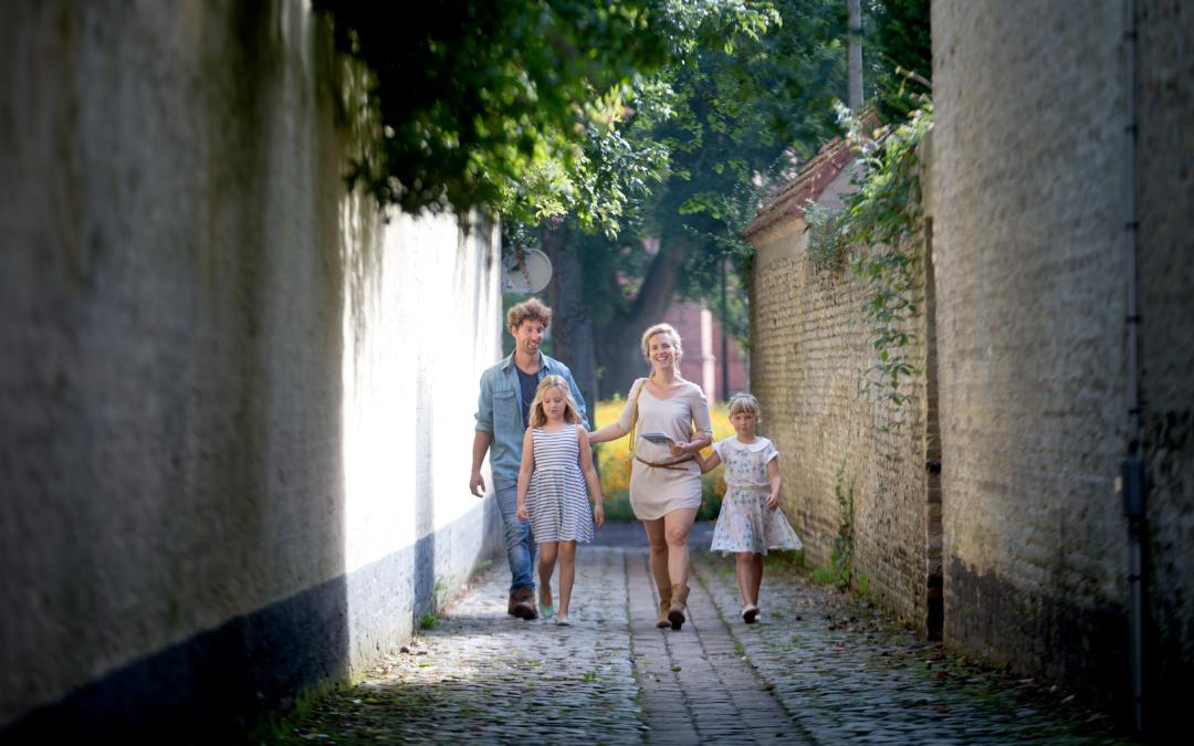 Met de fiets of te voet op ontdekkingstocht door Veurne