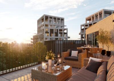 Lichtrijk wonen in luxe appartementen
